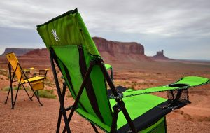 Camping Chair Side View