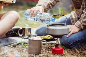 Ultralight Cooking on a Camping Stove
