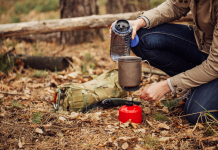 Cooking on a Camping Stove
