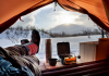 Winter Camping In a Warm Tent