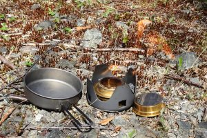 Alcohol Stove and Cooking Pot