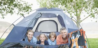 Best Tent for Family of Four