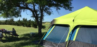 Best 10 Person Tent for Rain: Coleman Family Cabin Tent