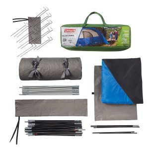 Items Included with Coleman Montana Tent