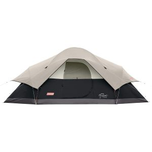 Red Canyon Camping Tent with Rainfly Attached