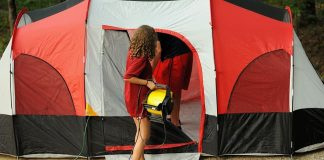 How To Keep a Tent Cool