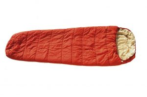Sleeping Bag Unrolled Flat
